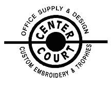 Center Court BW Logo